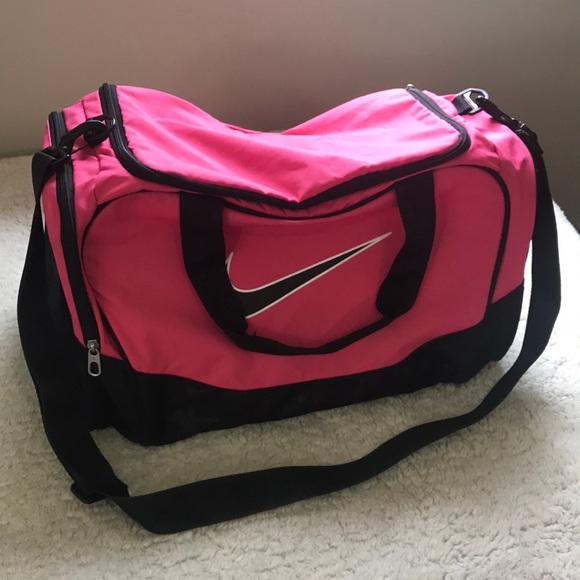 Nike Bags   Hot Pink Duffle Bag   Poshmark 252f58af8c